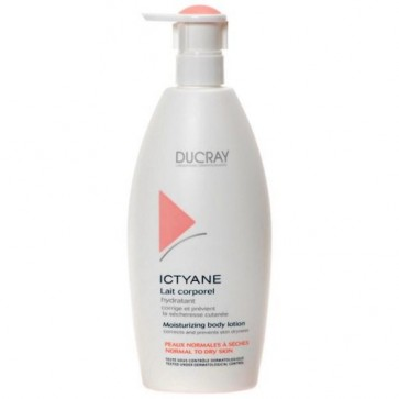 Ducray Ictyane Leite Hidratação Corpo 500ml