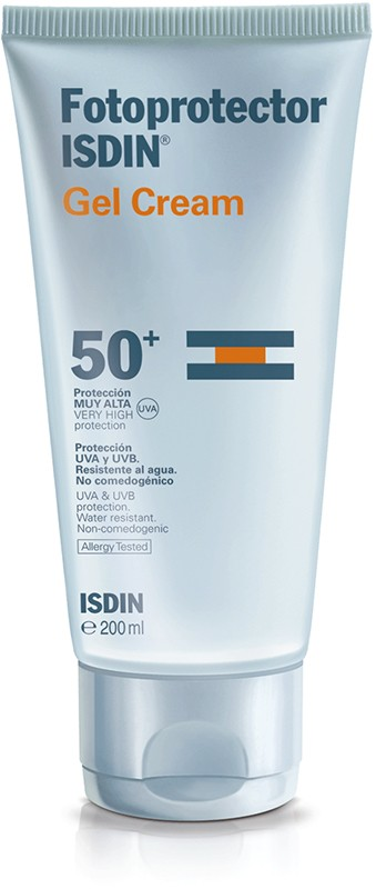 Isdin Fotoprotetor Gel Creme FPS 50+ 200 ml