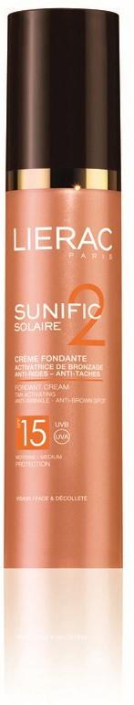 Lierac Sunific Creme FPS 15 50 ml