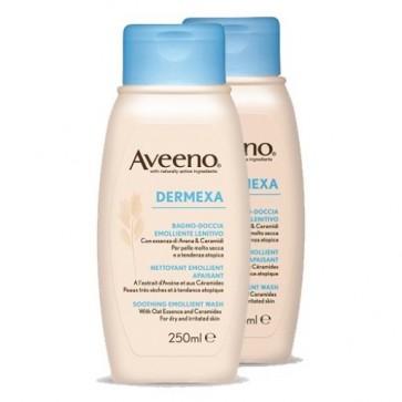 Aveeno Dermexa Fluído Limpeza 250 ml X 2
