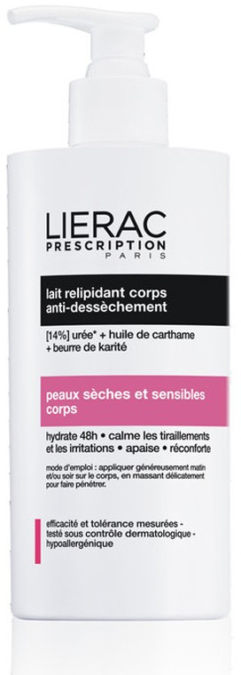 Lierac Prescription Leite Hidratante 400 ml