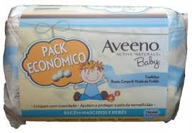 Aveeno Baby Toalhitas x 72 x 3 - Promoção