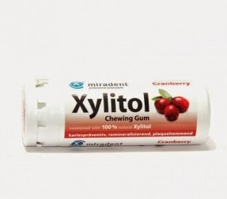 Xylitol Pastilhas Elásticas Mirtilo X30