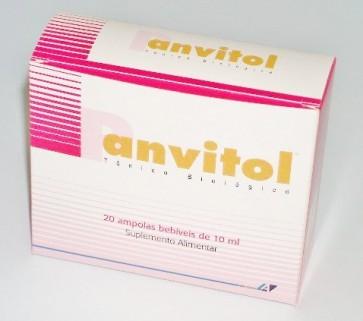 Panvitol Ampolas Bebíveis 10 ml  x 20