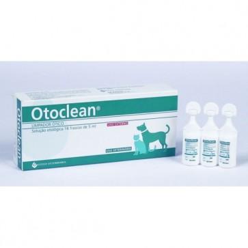 Otoclean Solução Auricular Cães e Gatos 18 Ampolas x 5 ml