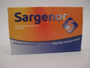 Sargenor 5 Ampolas Bebíveis 5000 mg/10 ml x 20