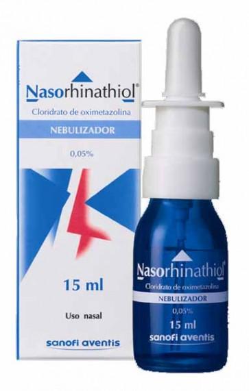 Nasorhinathiol Solução Pulverização Nasal 0,05% x 15 ml