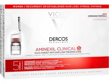 Dercos Aminexil Mulher 21 Ampolas