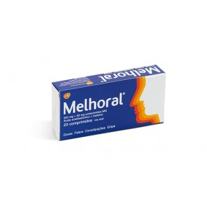 Melhoral Comprimidos 500/30 mg x 20