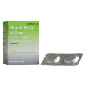 Fluimucil Comprimidos Efervescentes 600 mg x 20