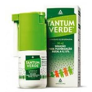 Tantum Verde Solução Pulverização Bucal 1,5 mg/ml x 30 ml