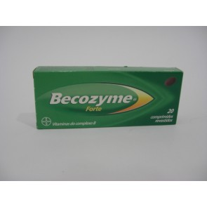 Becozyme Forte Comprimidos Revestidos x 20