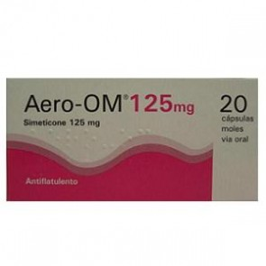 Aero-Om Cápsula Mole 125 mg x 20