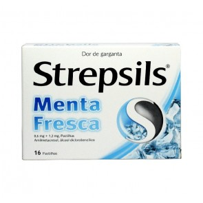 Strepsils Pastilhas Menta Fresca 0,6/1,2 mg x 16