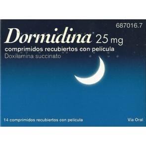 Dormidina Comprimidos Revestidos 25 mg x 14