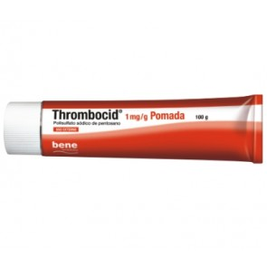 Thrombocid Pomada 0,04/1 mg/g x 100 g