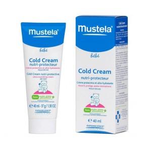 Mustela Bebé Cold Cream Creme Rosto 40 ml