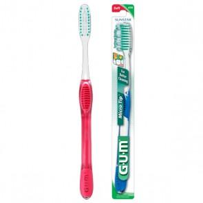 Gum Escova Dentes Mic Tip Média
