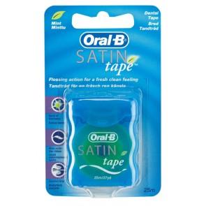 Oral B Fita Dentaria Satintape Menta