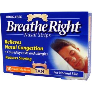 Breathe Right Penso Nasal Pequeno/Médio x 10