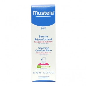 Mustela Bebé Bálsamo Reconfortante Peito 40 ml