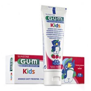 Gum Kids Pasta Dentes Morango 50 ml