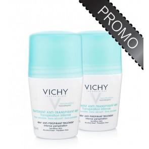 Vichy Desodorizante Transpiração Intensa 50 ml X 2