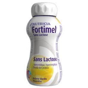 Fortimel Sem Lactose Solução Baunilha 200 ml  x 4