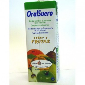 Oralsuero Solução Oral 3 Frutas 200 ml x 3