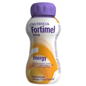 Fortimel Energy Solução Oral Laranja 200 ml  x 4