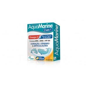 Aquamarine Cápsulas Óleo de Peixe x 60