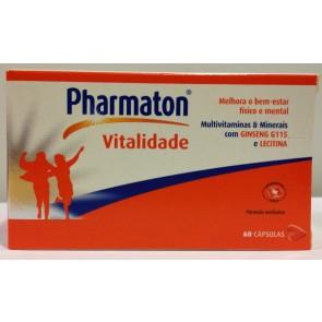 Pharmaton Vitalidade Cápsulas x 60