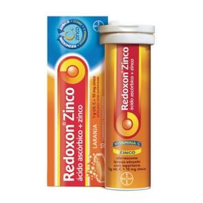 Redoxon Zn Comprimidos Efervescentes Laranja x 20
