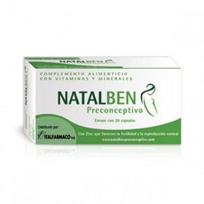 Natalben Preconceptivo Cápsulas x 30