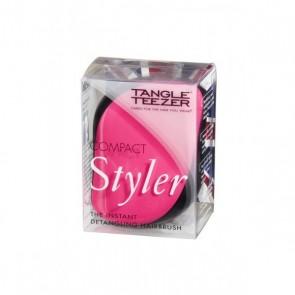 Tangle Teezer Escova Cabelo Compact Preta/Rosa