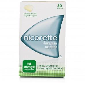 Nicorette Pastilhas 4 mg x 30