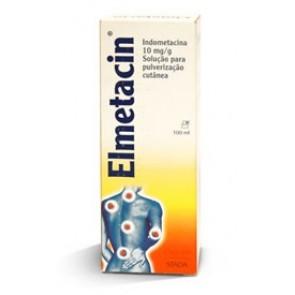 Elmetacin Solução Pulverização Cutânea 1g % p/v x 100 g