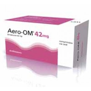 Aero-Om Comprimidos Mastigável 42 mg x 100