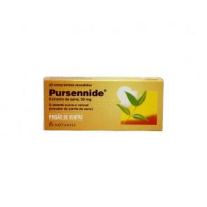 Pursennide Comprimidos Revestidos 20 mg x 20