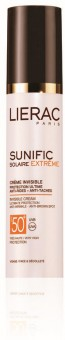 Lierac Sunific Creme FPS 50+ Invisível e Anti-Rugas 50 ml