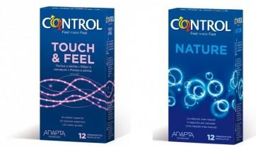 Control Nature Preservativos Promo x 12 + Control Touch & Feel Preservativos x 12