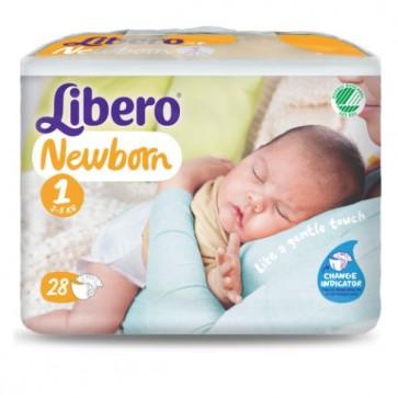 Libero New Born T1 - 2 - 5 Kg x 28