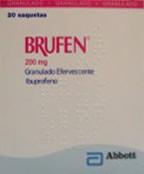 Brufen Granulado Efervescente Saquetas 200 mg x 20
