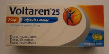 Voltaren 25 Cápsula Mole 25 mg x 10