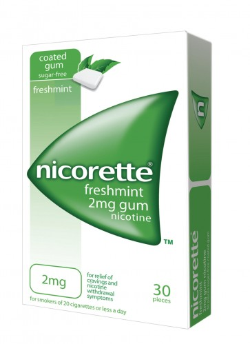 Nicorette Menta Pastilhas 2 mg x 30