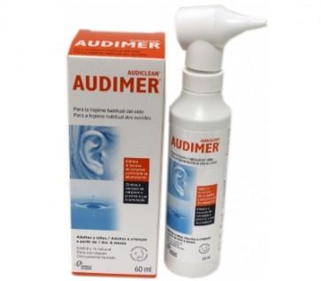 Audimer Solução Isotónica Limpeza do Ouvido 60 ml