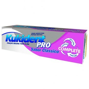 Kukident Pro Creme Clássico Próteses 47 g