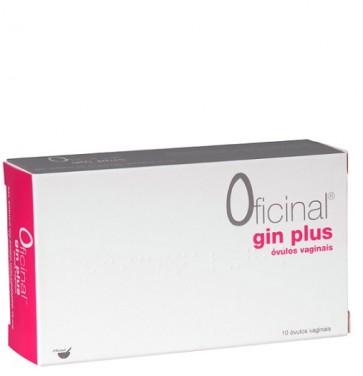 Gin Plus Oficinal Óvulo Vaginal x 10