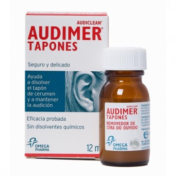 Audimer Removedor Cera do Ouvido 12 ml