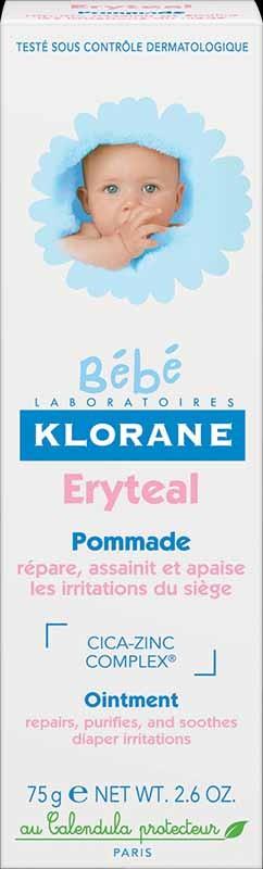 Klorane Bebé Creme Eryteal 75 ml